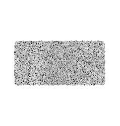 Black grey bubbles rectangle random dots vector