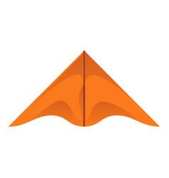 Brown kite icon cartoon style vector