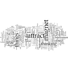 do you have what it takes to attract what you want vector image