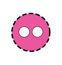 flicker icon design vector image