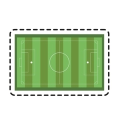 Isolated league of soccer sport design vector