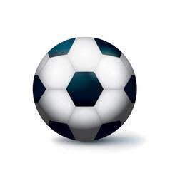 Isolated soccer football ball vector