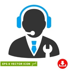 Service Manager Eps Icon vector image