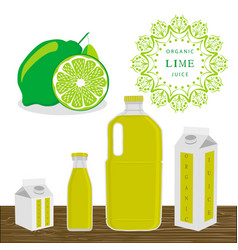 The theme lime vector