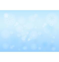 Winter Bokeh vector
