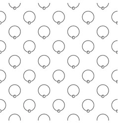 body piercing jewelry background or vector image