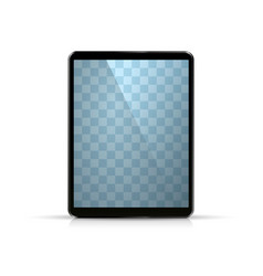 laptop object on white background vector image