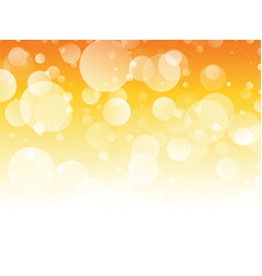 orange circles summer background vector image