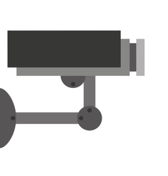 security camera isolated icon design vector image