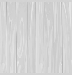 White wood textured background vector