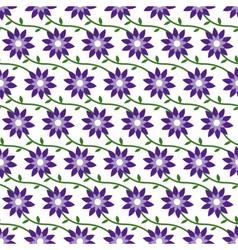 FlowersPatternBackground02 vector image