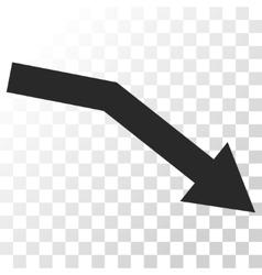 Fail Trend Icon vector image