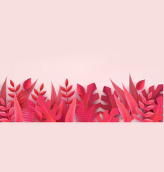 floral paper background and frame in the color of vector image
