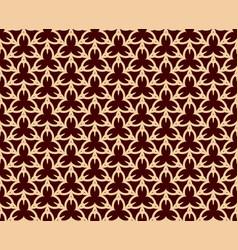 luxury geometric pattern seamless pattern vector image