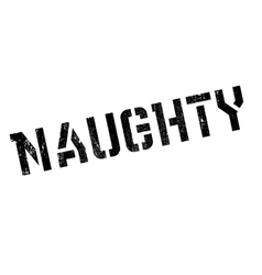 Naughty rubber stamp vector