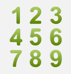 Number Set vector
