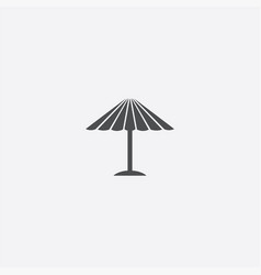 parasol mask icon vector image