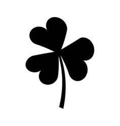 Saint patricks clover icon vector image