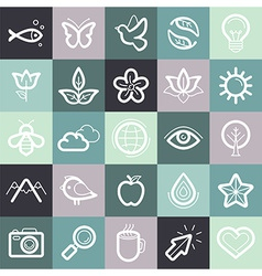 Set of design elements and symbols vector