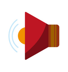 single speaker icon image vector image