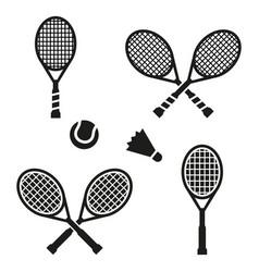 Tennis racket sign icon sport symbol vector