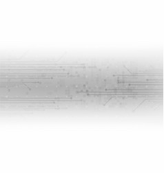 white background abstract technology vector image