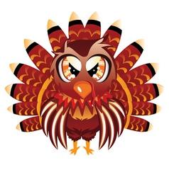 Cute Turkey Bird vector image vector image