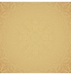 Seamless pattern with ethnic lace ornament vector image