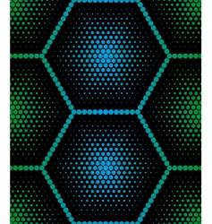 Hexagon texture vector