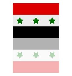 Iraq flag vector image