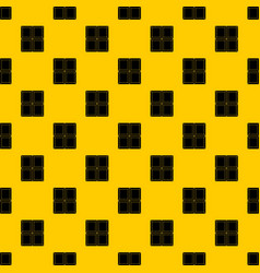 chocolate piece pattern vector image