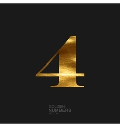 Golden number 4 vector