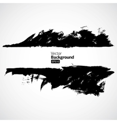 Grunge black background vector