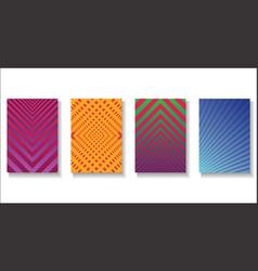 halftone dots modern colorful design future vector image
