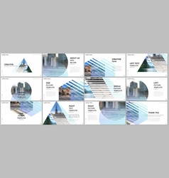 presentation design templates multipurpose vector image