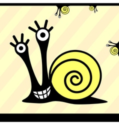 Snail or monsters vector