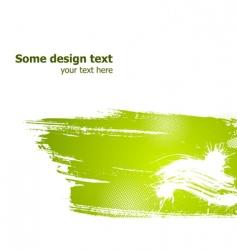 grunge illustration vector image vector image