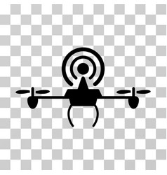 wifi repeater drone icon vector image vector image