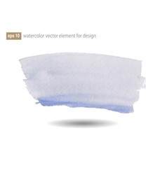 Watercolor abstract elements for design vector image