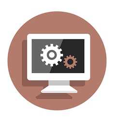 BackEnd vector image