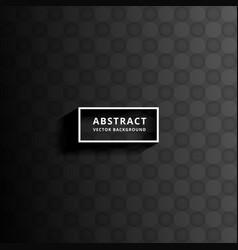 Dark abstract pattern background design vector