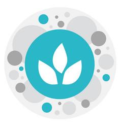 Of gardening symbol on tea vector