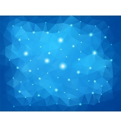 Winter Sparkles Abstract Background vector