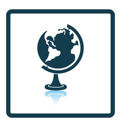Icon of Globe vector image vector image