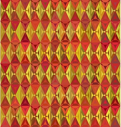 60s styled seamless diamond pattern vector image vector image