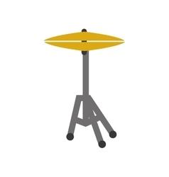 drum plates music instrument vector image