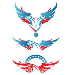 Eagle sport mascot vector