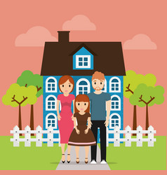 family home new property image vector image