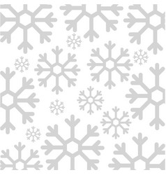 Snowflake weather pattern background vector