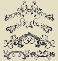 patterns design vector image
